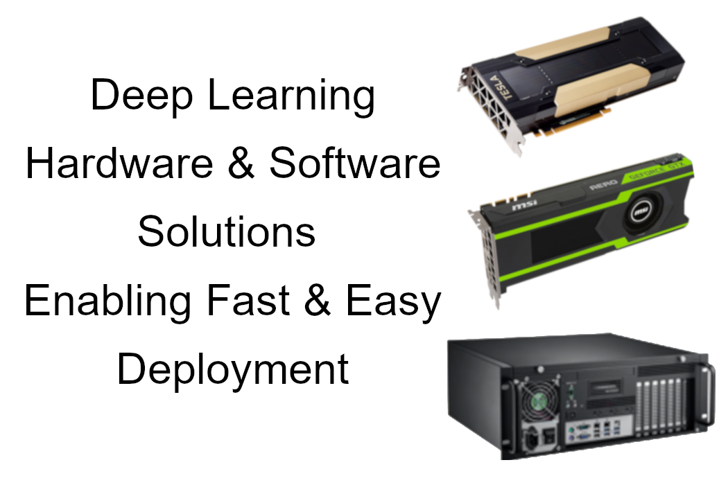 Deep Learning HW & Software Enabling Fast and Easy Deployment