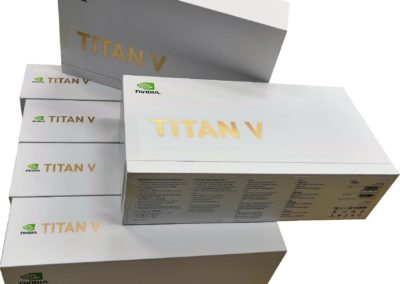 Multiples Titan V Graphic Cards