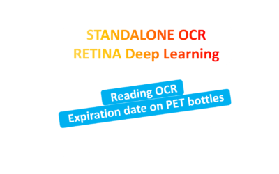 Standalone Deep Learning Retina-Olive reading Characters on PET Bottles Production Lines